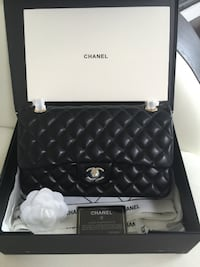 NEW Chanel Lambskin Classic 2.55 Double Flap Purse TORONTO
