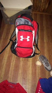 red and white Under Armour backpack Nicoma Park, 73020