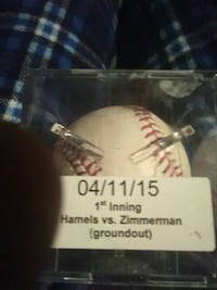 Cole hamels game used ball  Hatfield, 19440