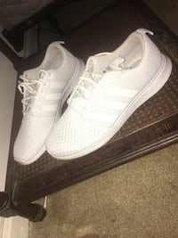 pair of white Adidas NMD Annandale, 22003