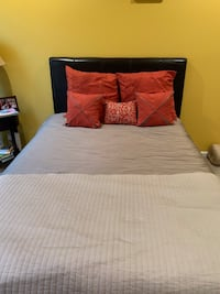 Full size bed mattress and box spring, 3 drawer dresser and side table  Brandywine, 20613