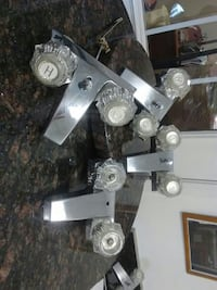 4 stainless steel faucets. Now $15. San Antonio, 78207