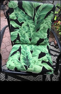 Jardin Jungle Leaf Cushions (8) For Patio Chairs Mississauga, L5M 5E2