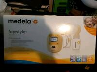 Medela double breast pump. .Brand new never used. Cambridge, N1R 5P2