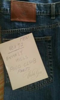 blue-washed Beverly Hills Polo Club jeans
