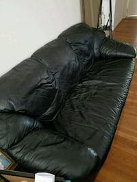 Black couch Hackensack, 07601