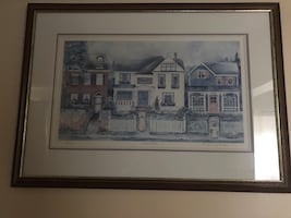 H Downing Hunter limited print - comes with certificate of auth.