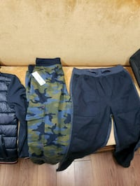 blue and gray camouflage cargo shorts 556 km