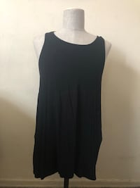 Women's black sleeveless shirt  Spring Valley, 10952