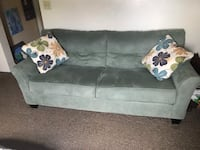 gray suede 2-seat sofa Portsmouth, 23704