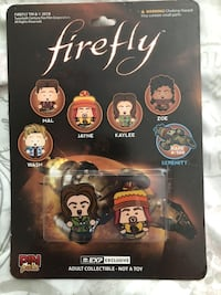 Firefly tv show collectable pin Victoria, V8N 4P2