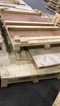 White and brown wooden table Norcross, 30093