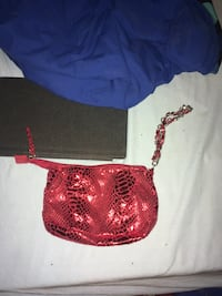 Red sequin handbag Edmonton, T6J 1J5