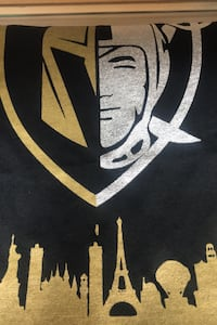 Golden knights and raiders T-shirt