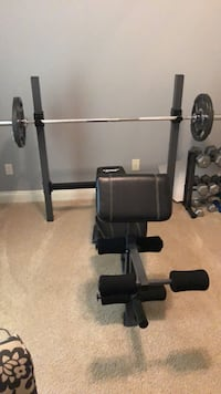Weight bench with dumbbells. Everything included Daphne, 36526