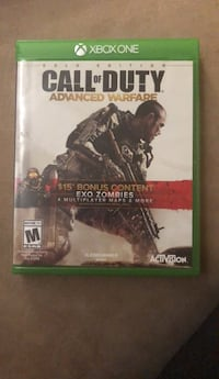 Call of Duty Advanced Warfare Xbox One game case Mount Joy, 17552