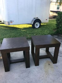 End Tables 25.00 for both South Pasadena, 33707