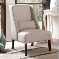 New Beige Accent Chair