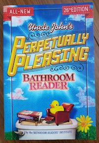 Uncle John's Bathroom Reader -Perpetually Pleasing Calgary, T3J 3J7