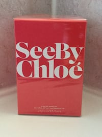 Seeby Chloe Eau de Parfum. 75ml . Sealed in box. Brampton, L6R 2S1