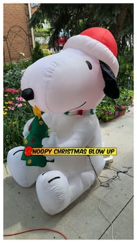 SALE Snoopy Christmas Blow Up 5.5ft Oakville, L6H 3M6