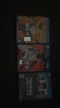 two Sony PS3 game cases Aurora, L4G 1H8