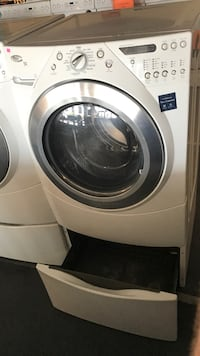 white front-load clothes washer Cincinnati, 45239