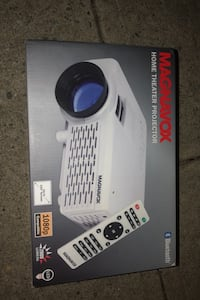 Bluetooth hi def magnavox home theater projector . Awesome deal Merrick, 11566