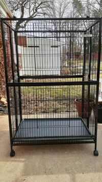 Animal cage, large.  For small animals.