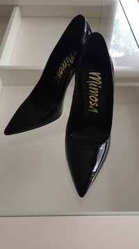 Black patent leather Mimosa pumps Laval, H7N 1S6