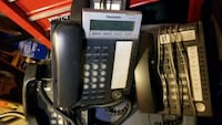 Panasonic office phone system 4 phones
