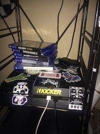 PS4 with controller and games  Las Vegas, 89139