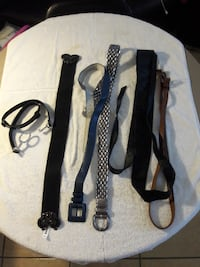 Dress belts 5 each or 7 for 30.00 North Las Vegas
