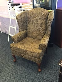 New Chacko Wingback Upholstery Chair