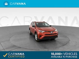 2016 Toyota RAV4 suv LE Sport Utility 4D Red