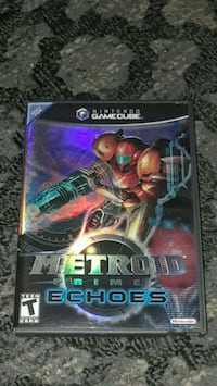 Nintendo Game Cube Metroid Prime 2 Echoes like new