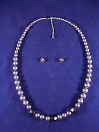 silver-colored beaded necklace Toronto, M6L 1A4