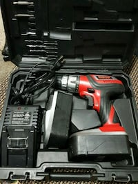 Red and black cordless power drill Stockton, 95204