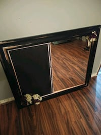 Mirror with chalkboard