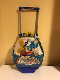 Seams street carry-on luggage/bag pack, water shoes, LEGO, puzzle and guitar Toronto, M1S 2X6