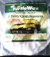 "2 TurtleWax Terry Cloth Bonnets 9"" or 10"" **New In Package** - $8 Gresham"