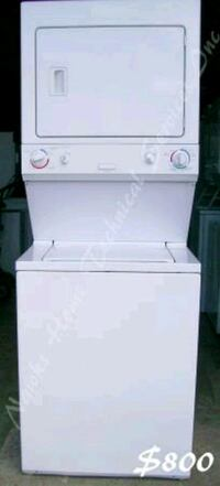 Electrolux Large Stacked laundry, 1 yr warranty Richmond Hill, L4C 3G2
