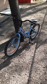 Blue and black bmx bike .size 20 Winnipeg, R2M 3B7