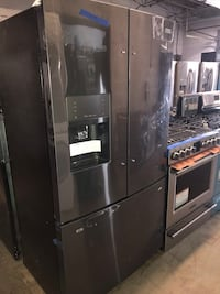 "Brand New Frigidaire 36"" French Doors Refrigerator dark steel 6 months warranty  Baltimore, 21215"