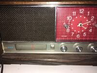 black and brown transistor radio 2205 mi