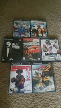 six assorted PS3 game cases Tempe, 85282