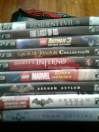 assorted Sony PS3 game cases Cambridge, N1R 3J7