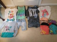 assorted clothing lot