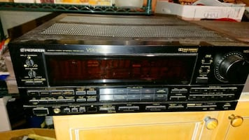 AUDIO VIDEO STEREO RECEIVER