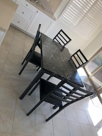 Dining room table and chairs Irvine, 92618